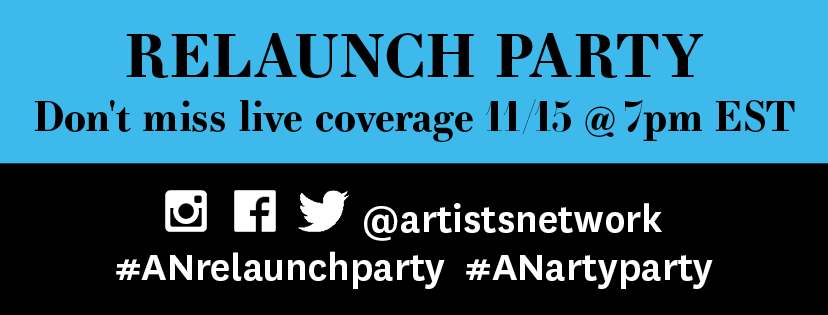 ArtistsNetwork Relaunch