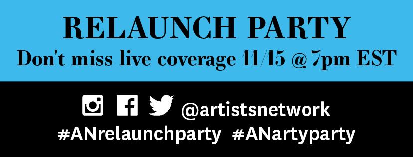 ArtistsNetwork Relaunch